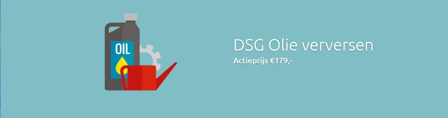DSG Olie Verversen DSG Service dealer DSG specialist uw DSG dokter
